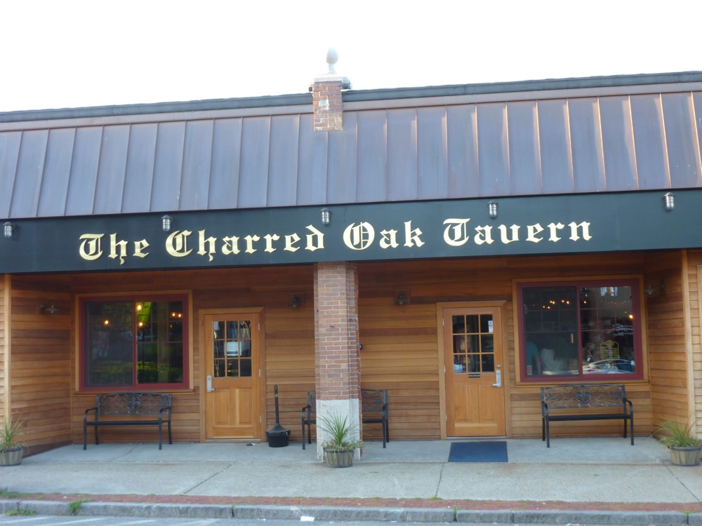The Charred Oak Tavern, downtown Middleboro, Mass.