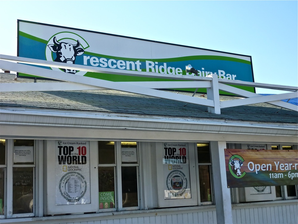 Crescent Ridge Dairy Bar, Sharon MA