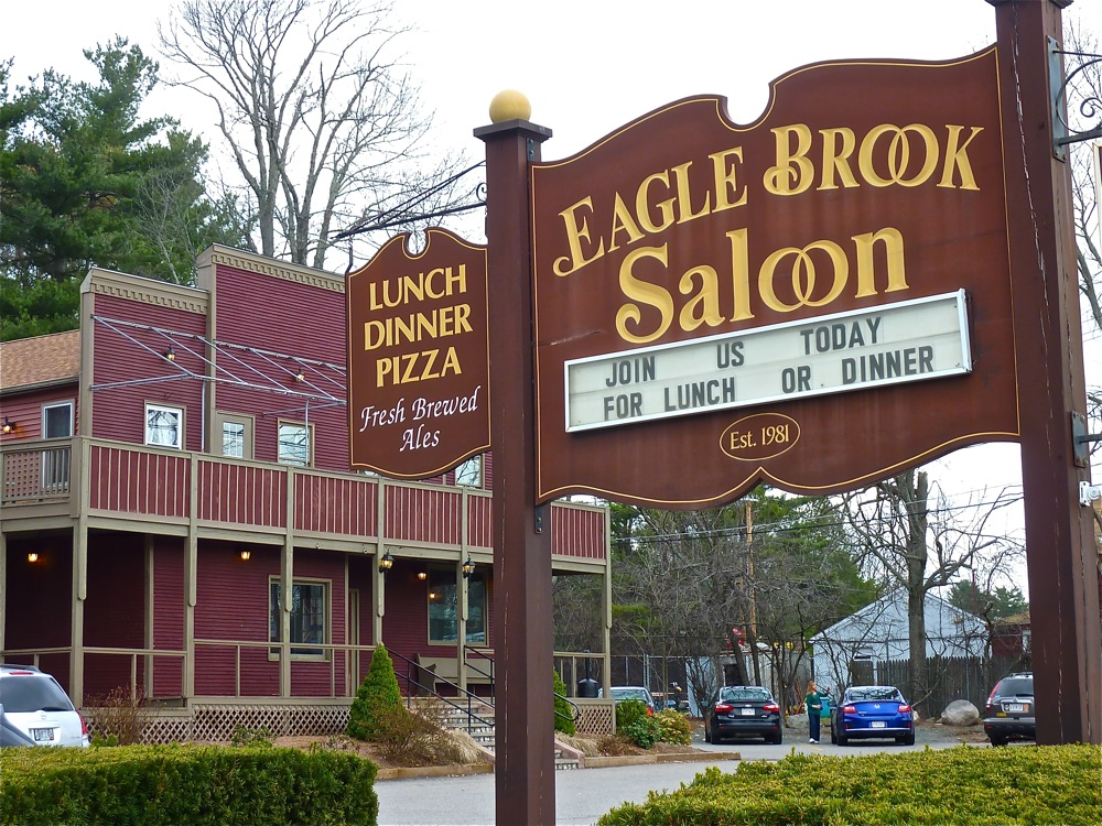 Eagle Brook Saloon, Norfolk, Mass.