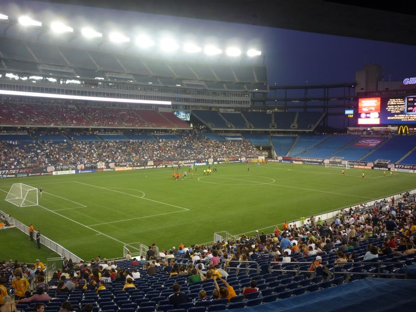 Picture of Gillette Stadium, Foxboro, Mass.