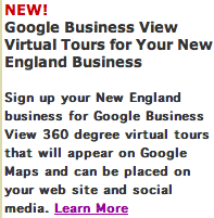 Google Business View Virtual Tours New England