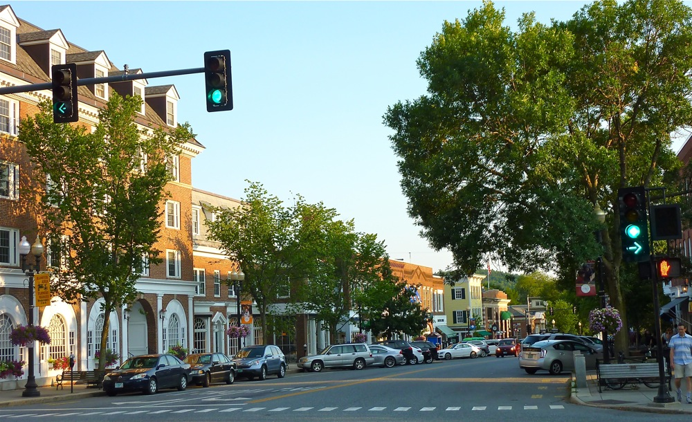 Downtown Hanover, New Hampshire