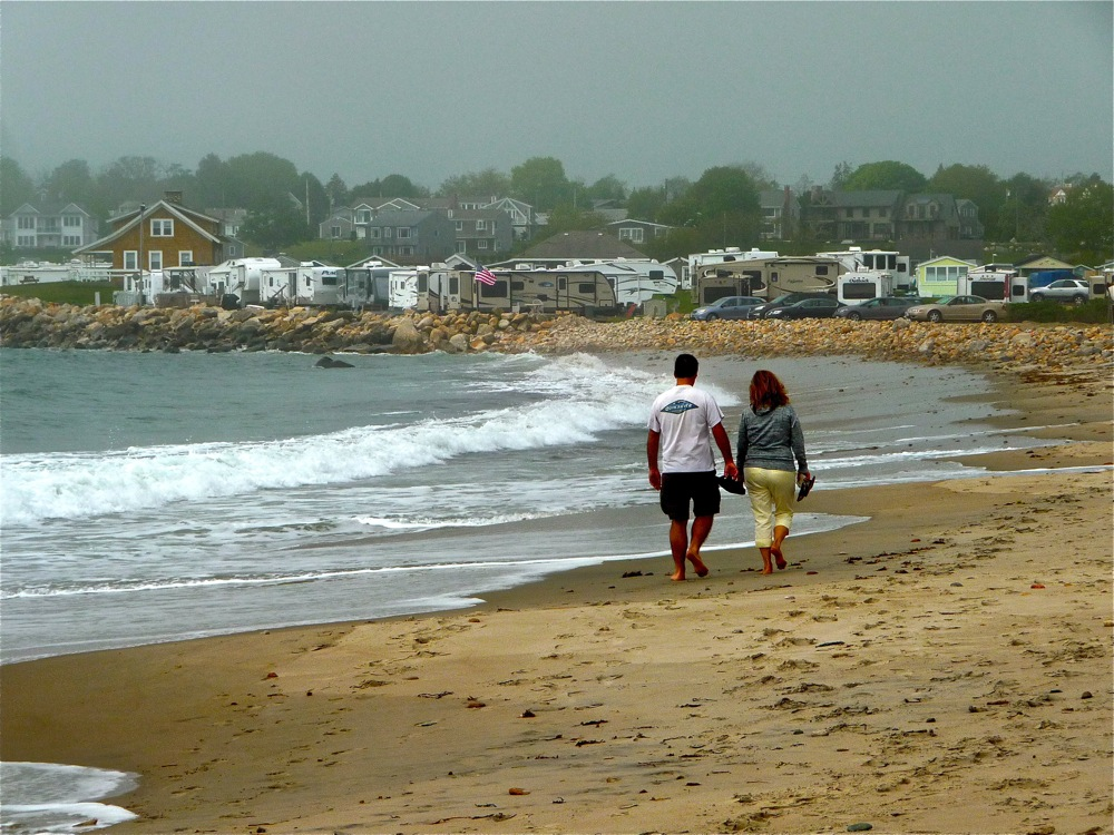 South Shore Beach in Little Compton Ri is an off-the-beaten path beach.
