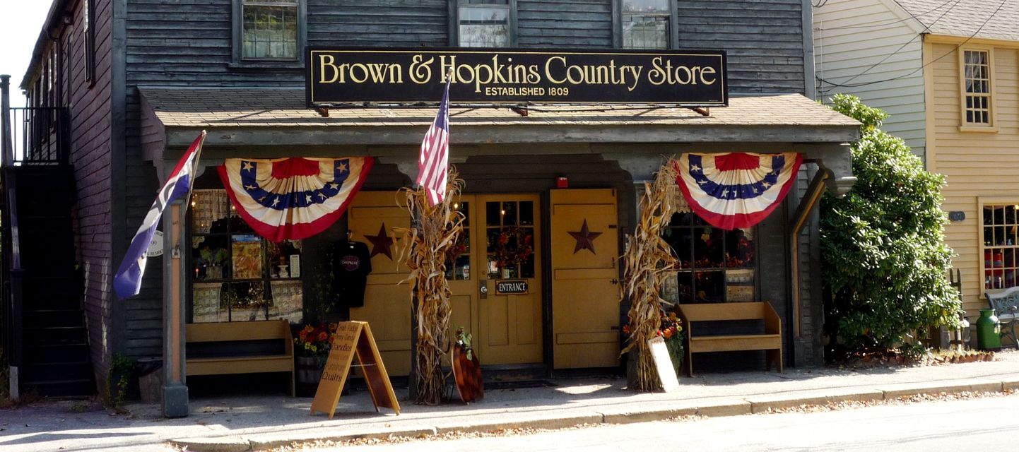 Brown and Hopkins Country Store, Chepachet RI