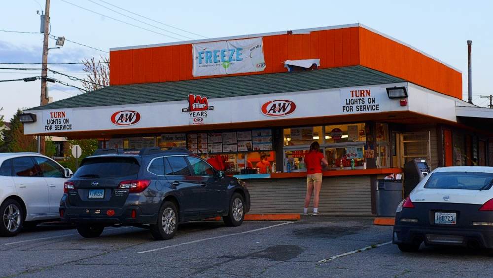 This is the oldest carhop-style restaurant in Rhode Island....