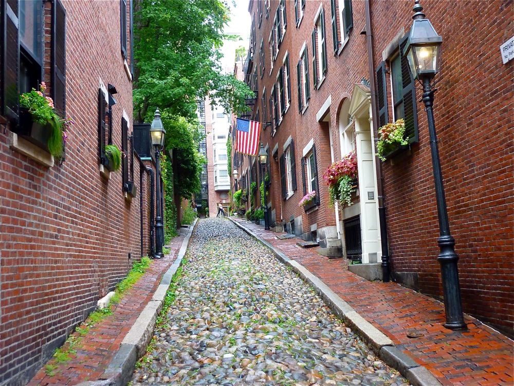 Tour the Boston neighborhoods