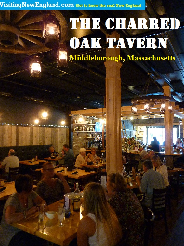 Be prepared to love the fresh seafood straight off the fishing boats in New Bedford, the whiskey bar and just about anything else at this cozy, rustic tavern in Middleborough, Mass., near Plymouth.