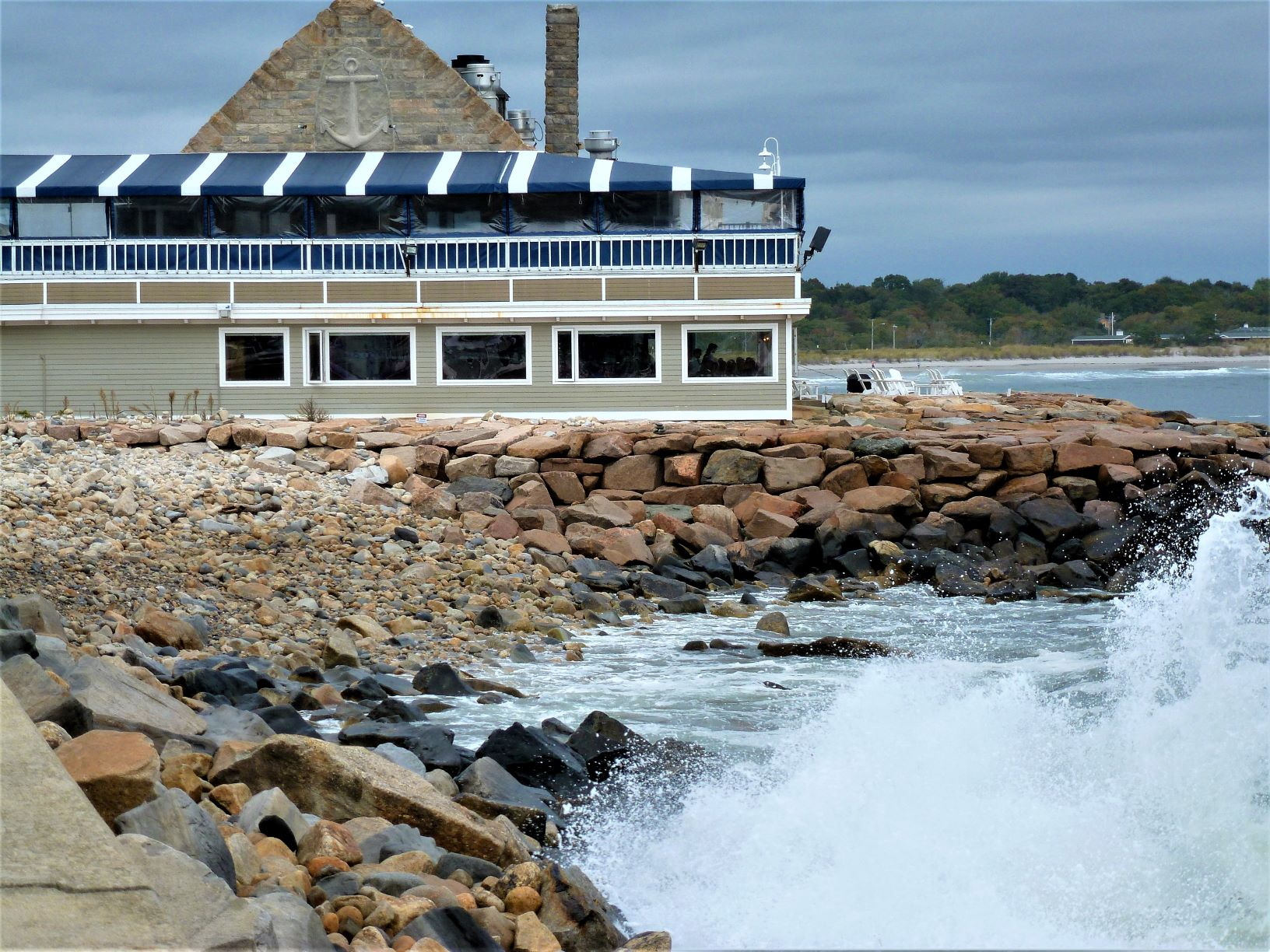 The Coast Guard House in Narragansett, R.I., features locally harvested seafood and incredible water views.