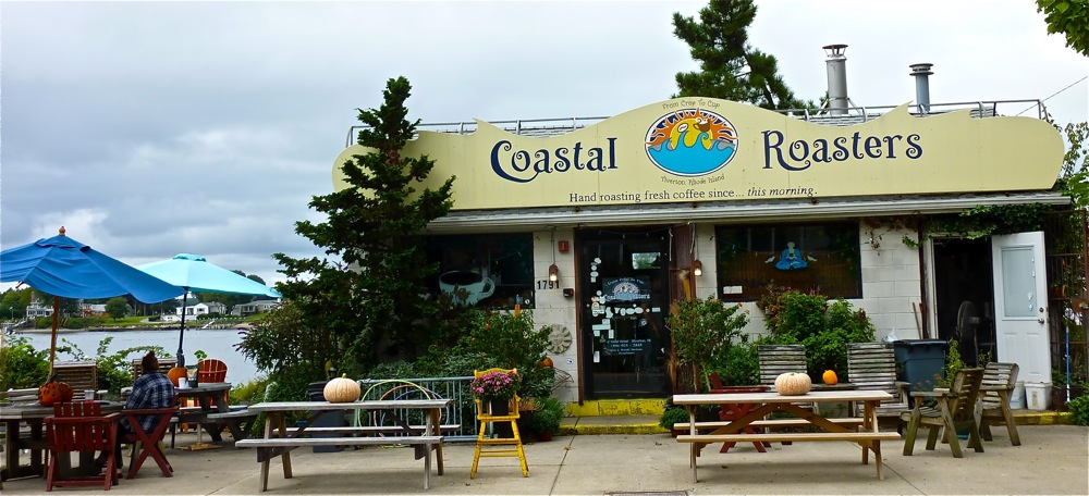 Coastal Roasters coffee shop in Tiverton, R.I.