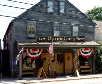 Brown and Hopkins Country Store, Chepachet, RI, in New England