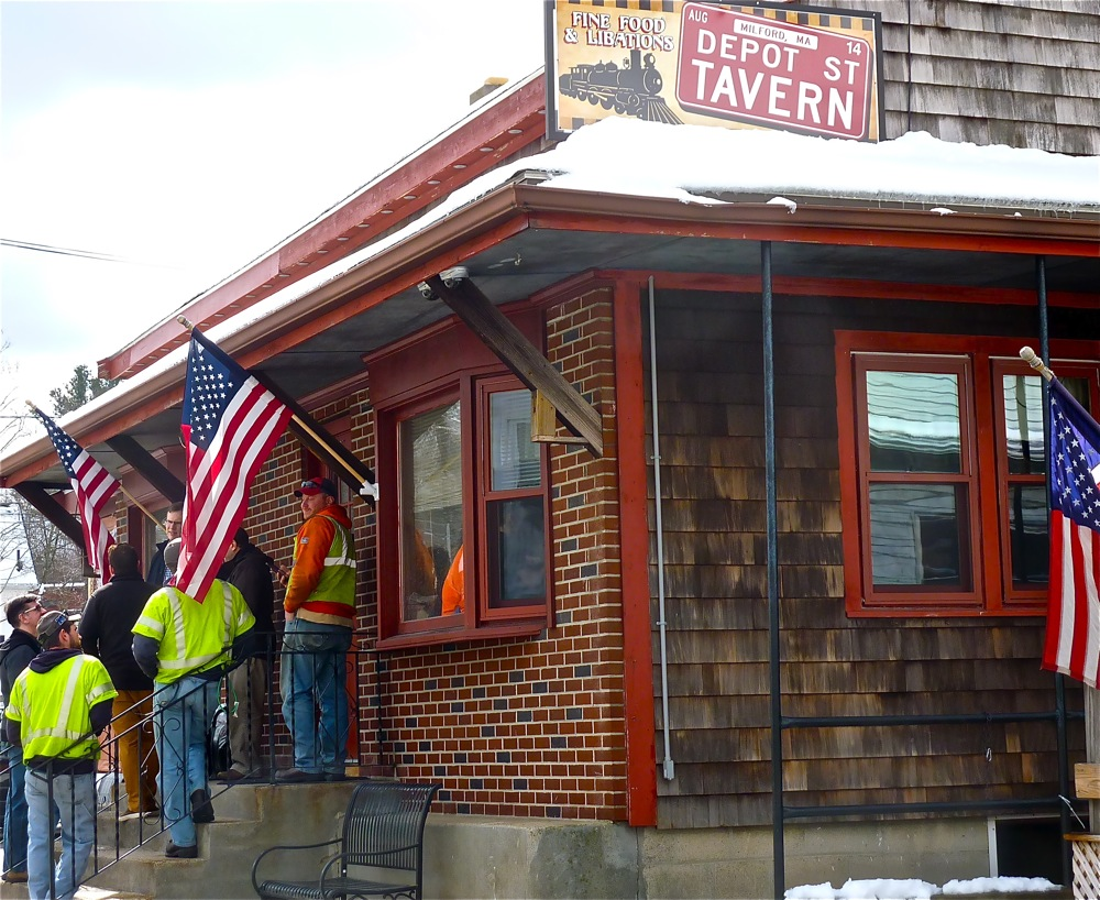 Depot Street Tavern in Milford, Massachusetts