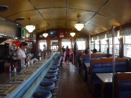 Miss Mendon Diner interior