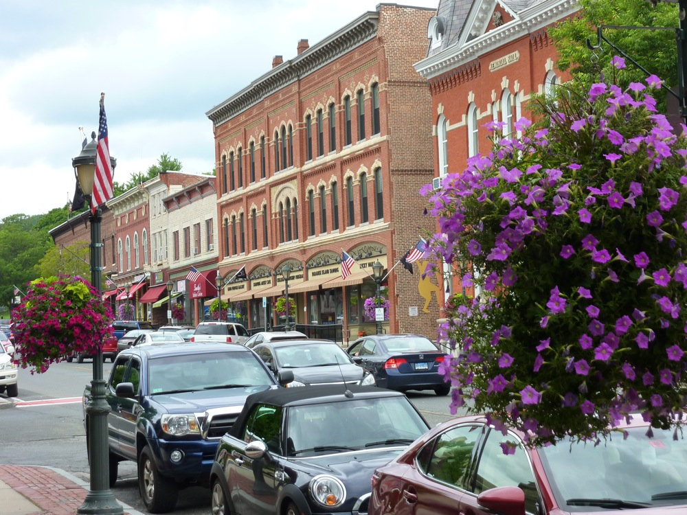 Downtown Lee, Massachusetts, is one of the most charming towns in the Berkshires.