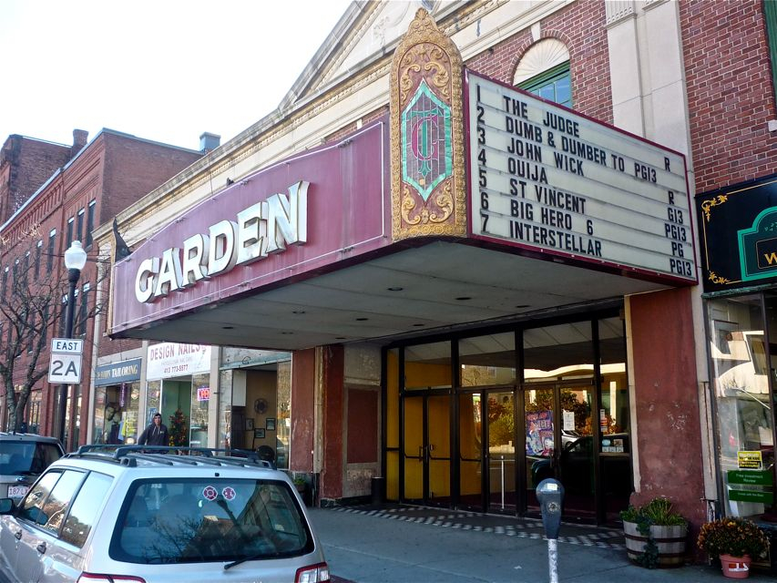 Love a good old fashioned downtown try greenfield - Downtown at the gardens movie theater ...