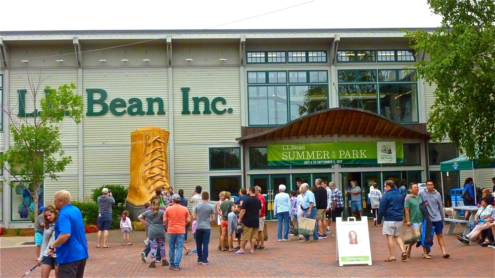 L.L. Bean flagship store, Freeport, Maine