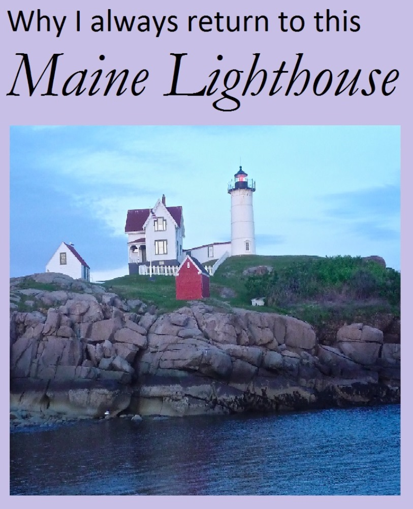 Why I always return to this lighthouse in Maine..