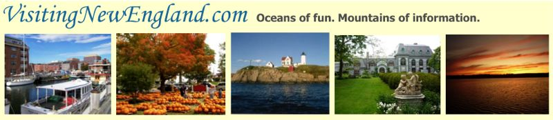 New England Travel navigation bar graphic