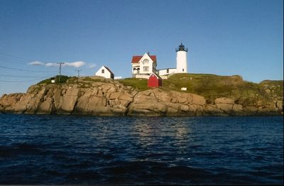 Nubble Lighthouse photo, Cape Neddick, Maine