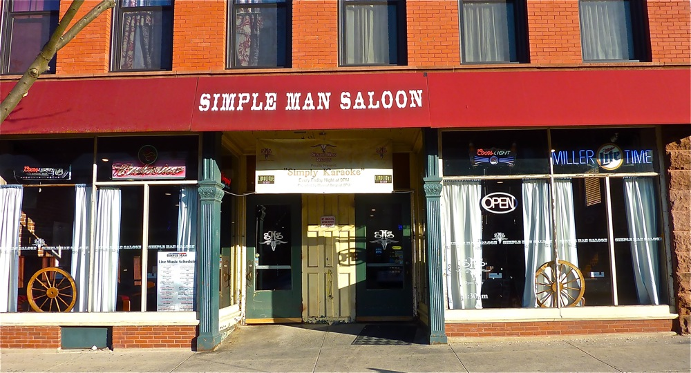 Simple Man Saloon, downtown Clinton MA