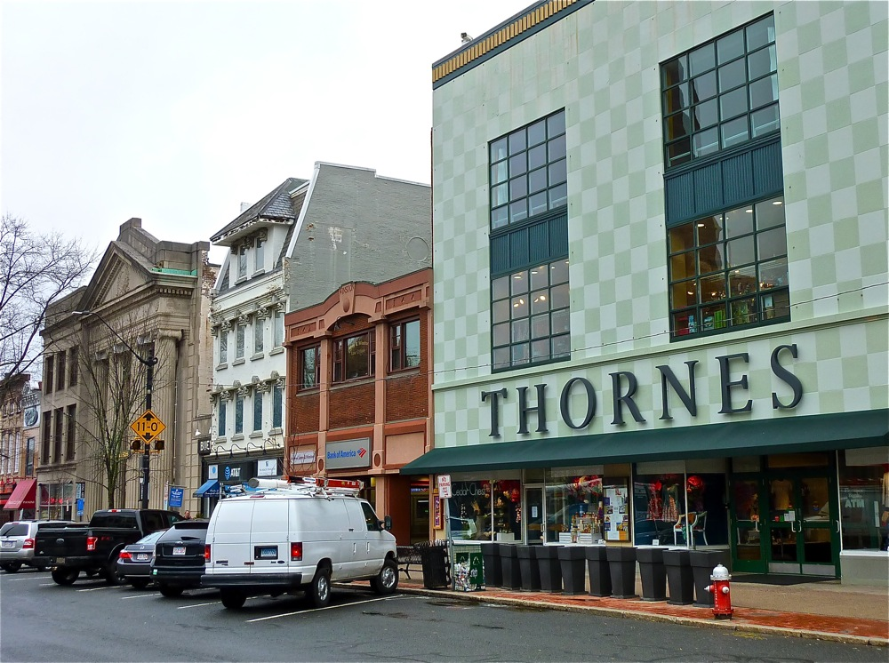 Thornes Marketplace in Northampton MA.