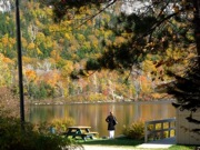 Echo Lake photo, Franconia State Park, NH