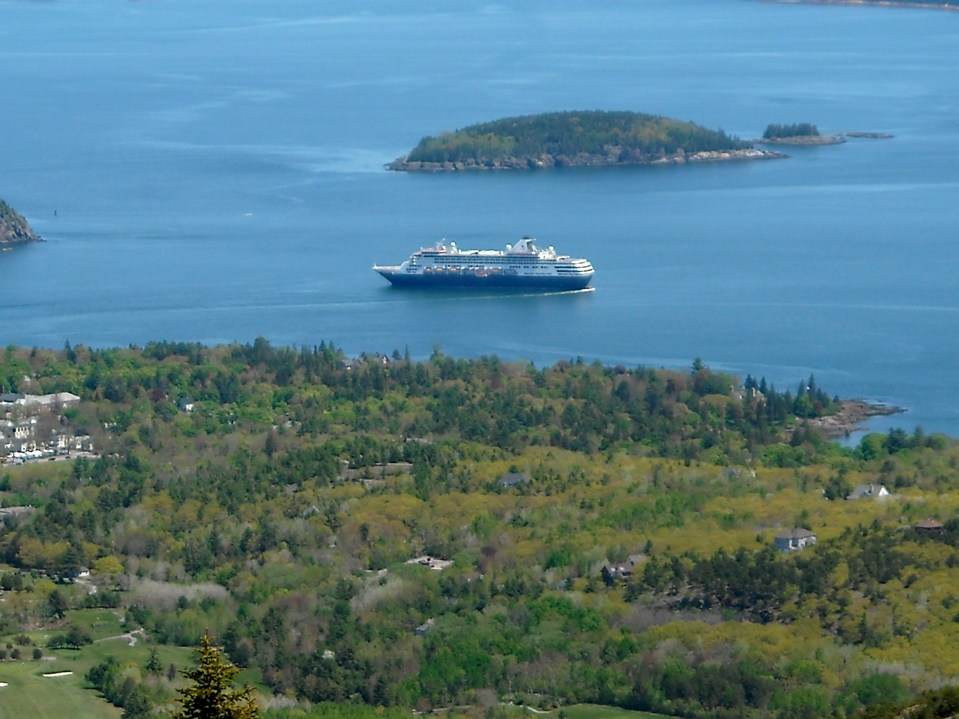 Viewing Coastal Maine From Cadillac Mountain The Thrifty