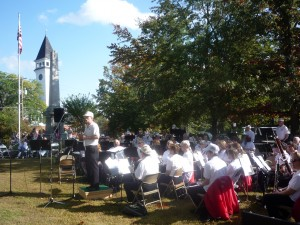 Hollis, N.H., Apple Festival and Band Concert, Oct. 3