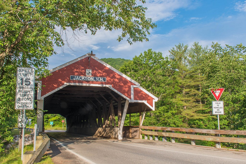 Jackson Covered Bridge, Jackson N.H. Photo by: Dan House/Wiseguy Creative