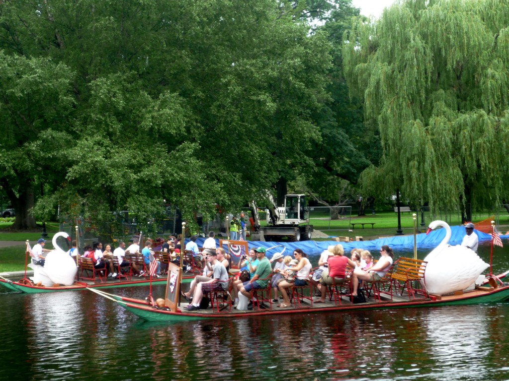 Photo of Swan Boat Rides, Boston, MA