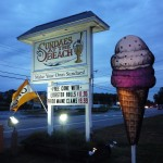 Image of Sundaes at the Beach, Wells, Maine
