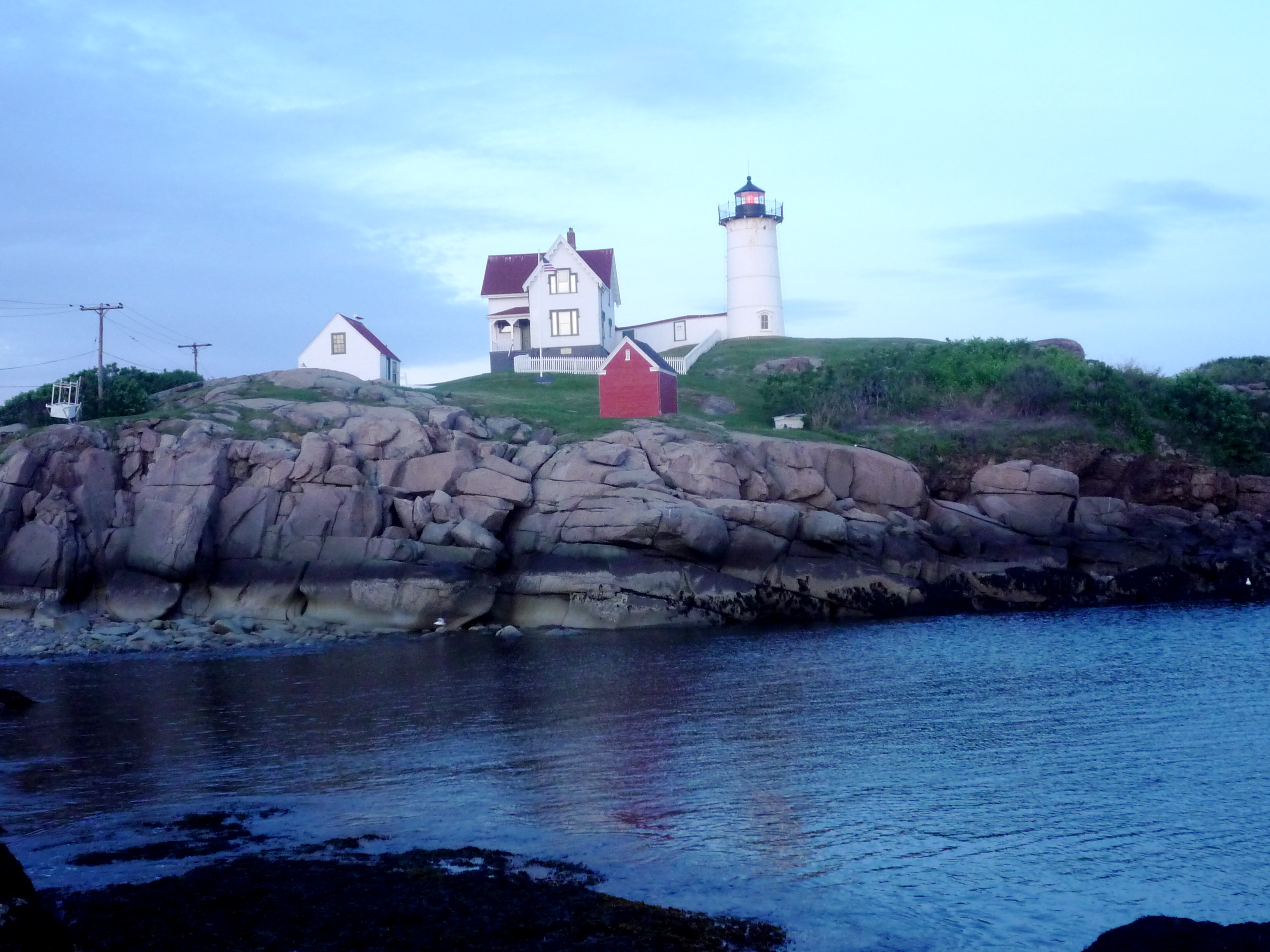 Image Of Nubble Lighthouse York Beach Maine