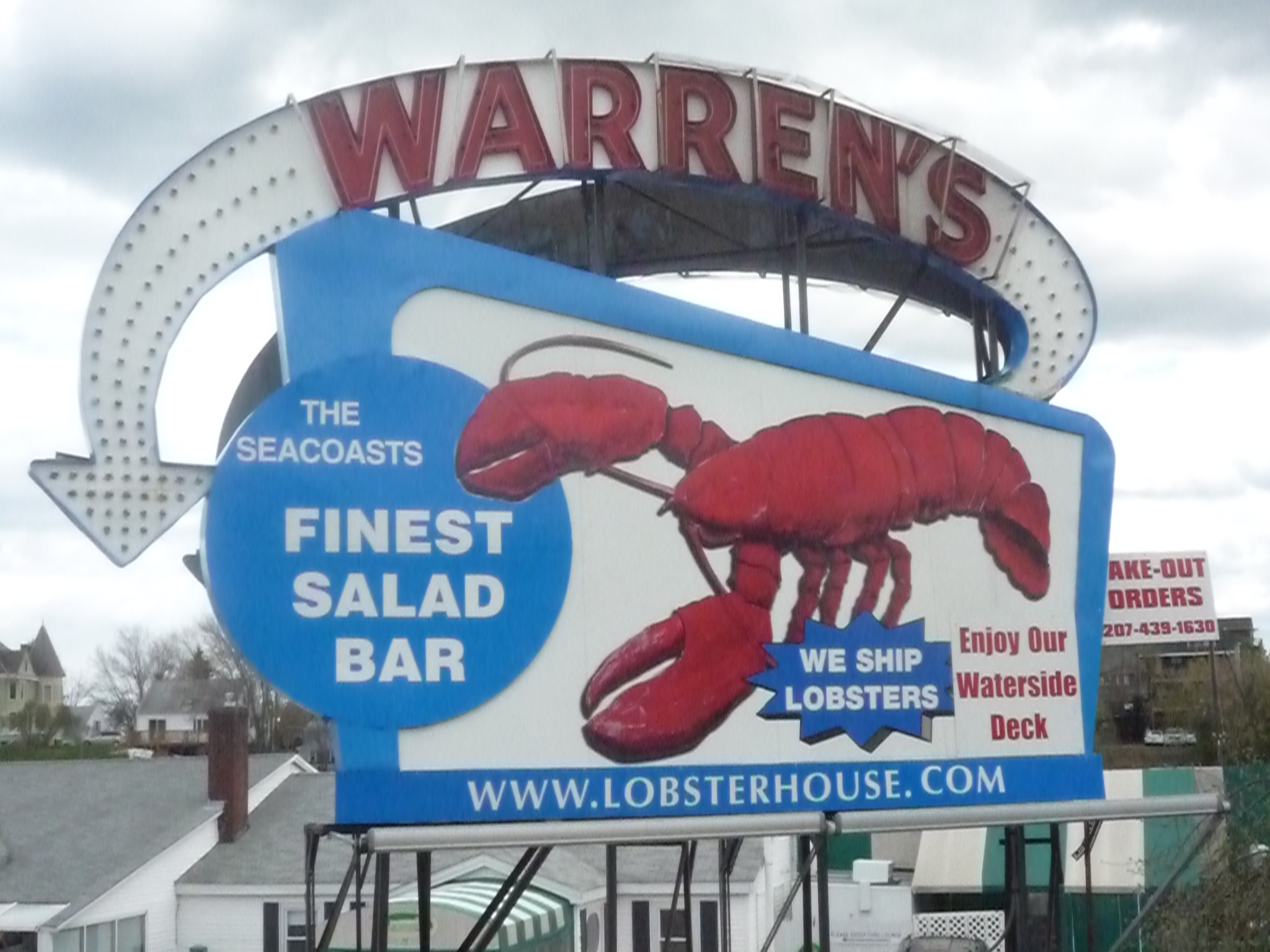 Dining Bargain at Warren's Lobster House, Kittery, Maine