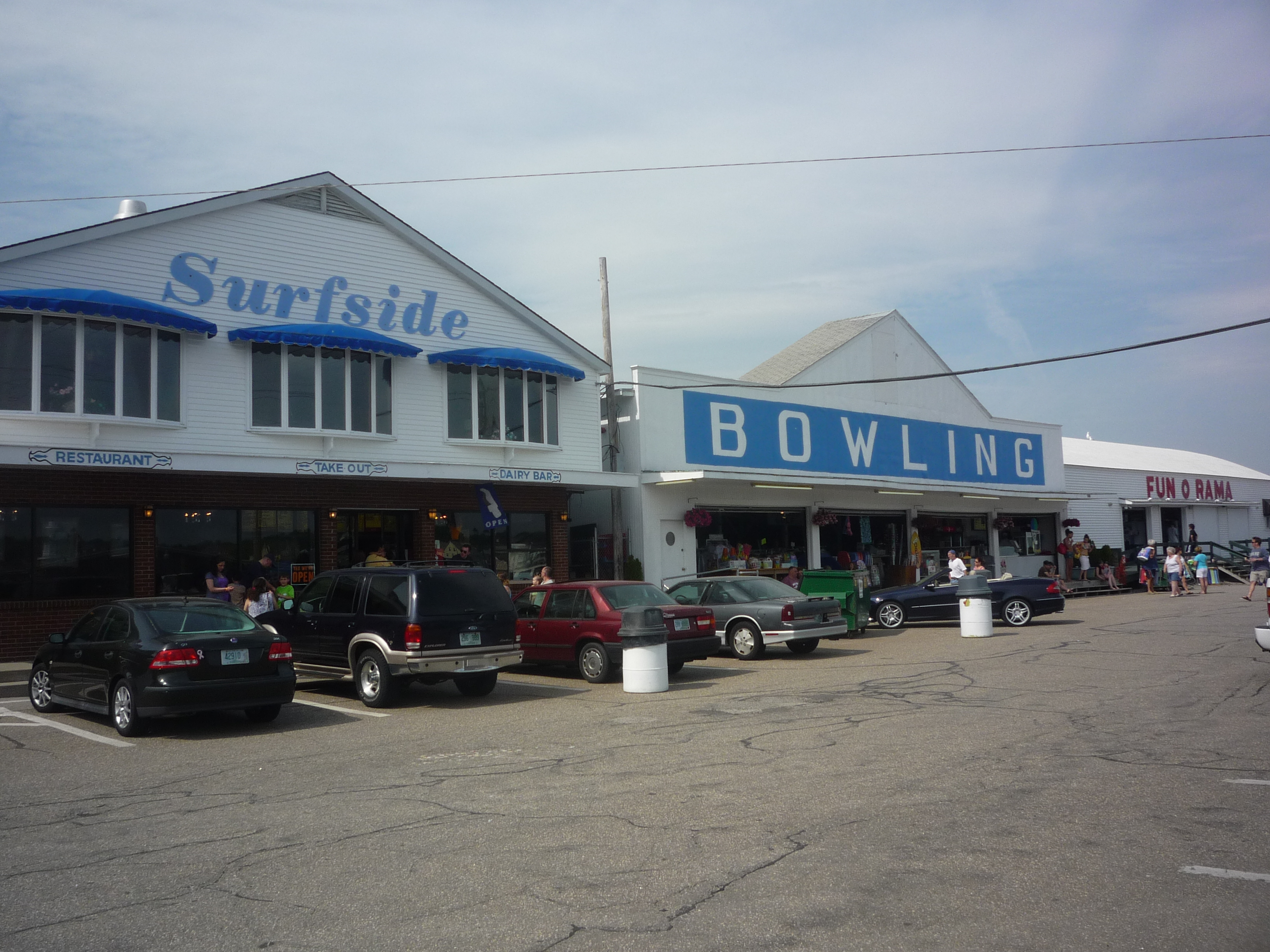 Fun And Fried Food At Short Sands Beach York Maine The Thrifty New England Traveler