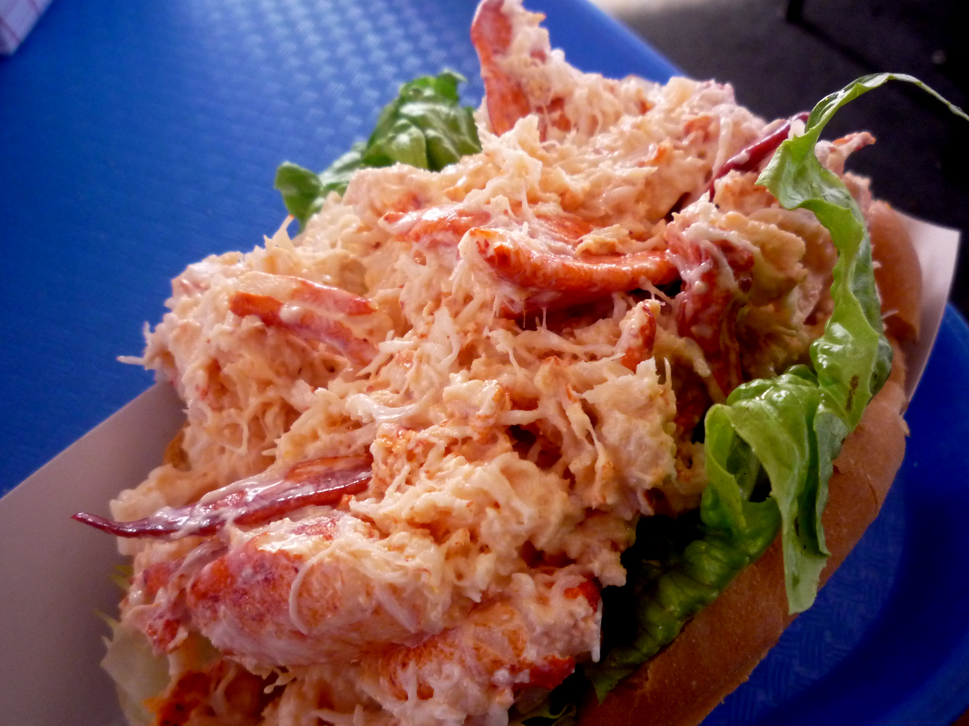 Beyond Cheap Prices on Lobster and Lobster Rolls at Markey's, Seabrook, N.H.