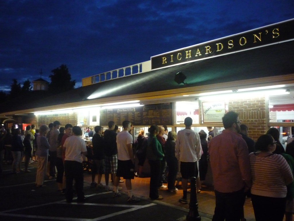 Richardson's Ice Cream Stand (photo by Eric)