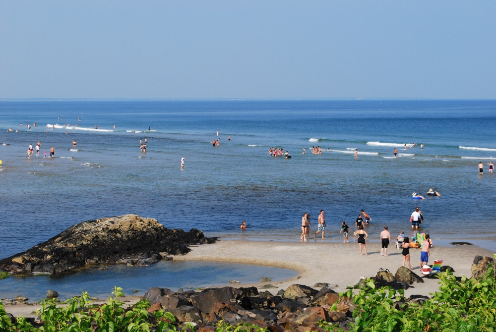 Little Beach, Marginal Way, Ogunquit ME.. Photo: Sarah Diment, Beachmere Inn