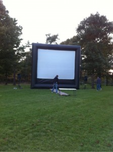 Family Movie Nights On The Green Benefits Mashpee Dog Park, Mashpee, Mass.