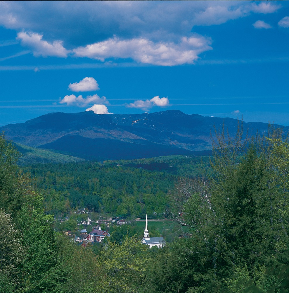Stowe Vermont in the summer (photo source: GoStowe.com)