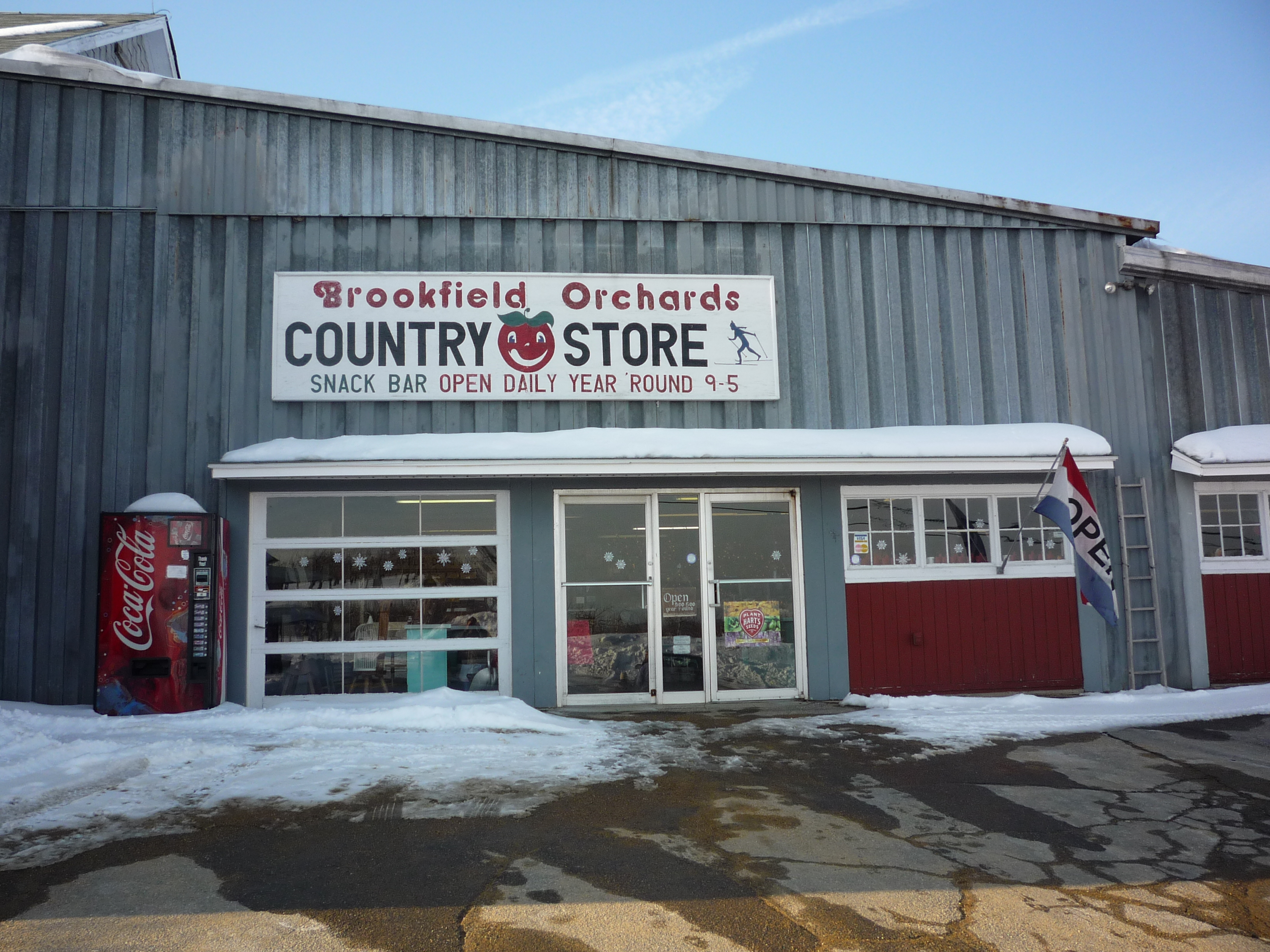 Brookfield Orchards, the Amazing Apple Dumpling and Quaint Country Store