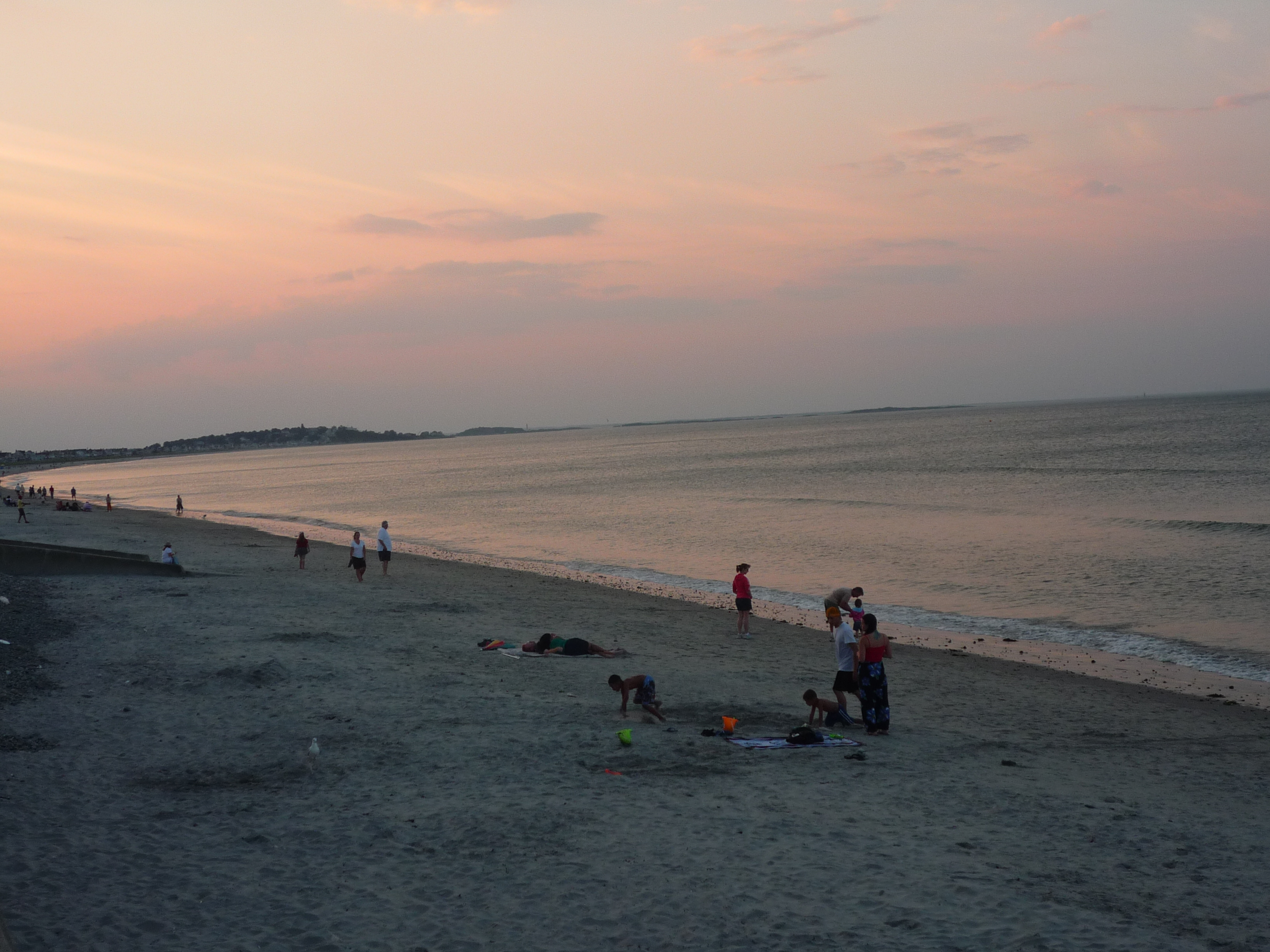 Nantasket Beach in Hull, Mass., Open Year-Round Near Boston