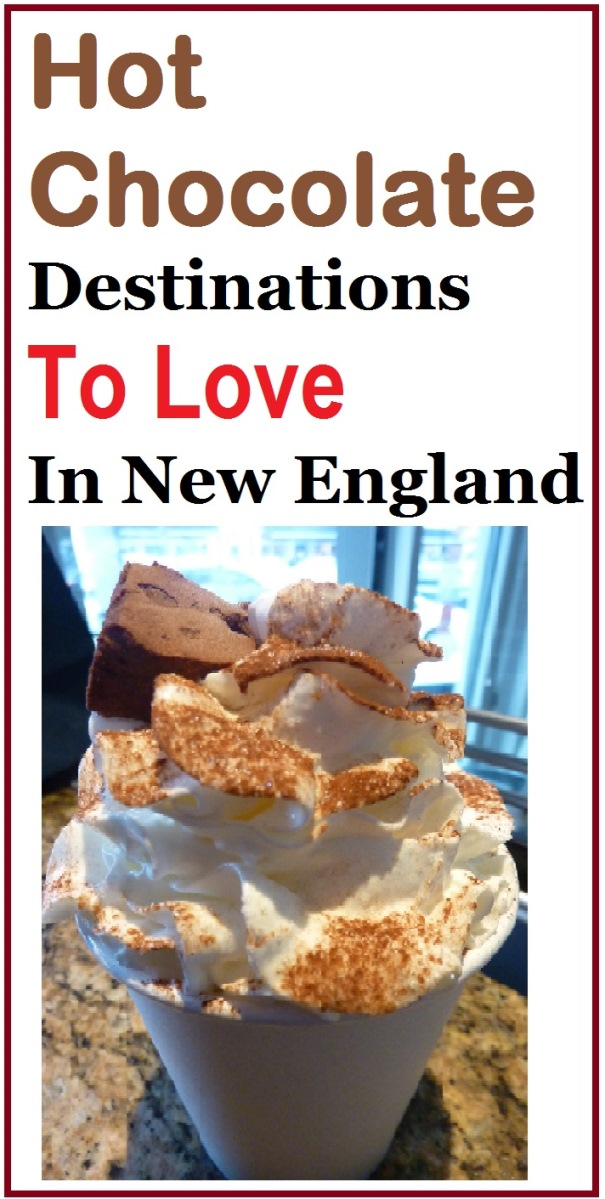 Where to enjoy the best hot chocolate in New England.