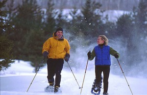 Photo of snowshoeing in Bethel, Maine