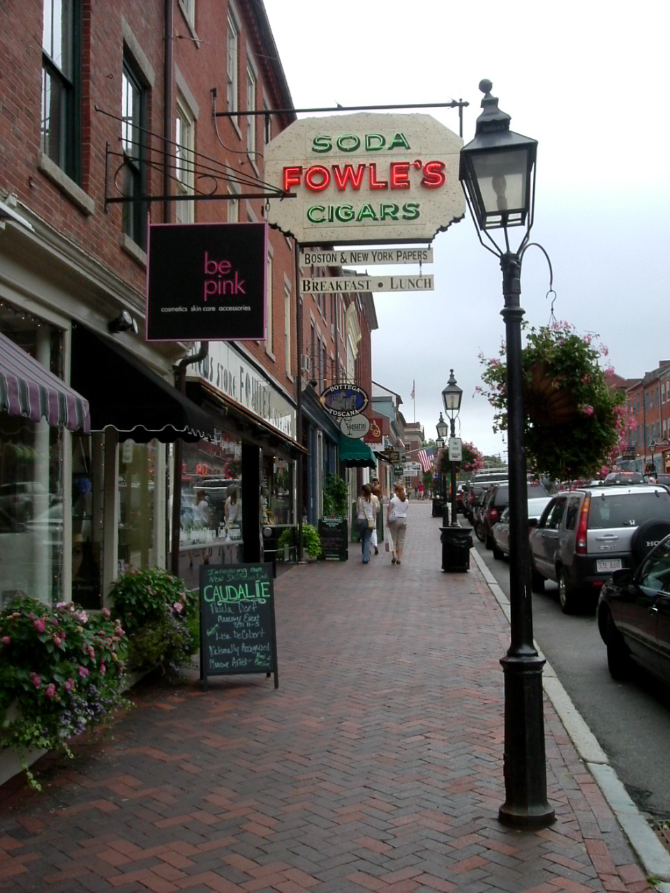 "In a ""Fowle's"" Mood in Newburyport, Mass."