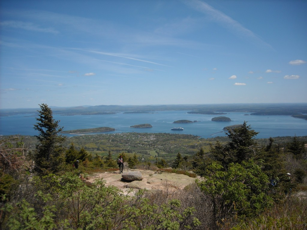 Picture of Cadillac Mountain, Acadia National Park, Maine