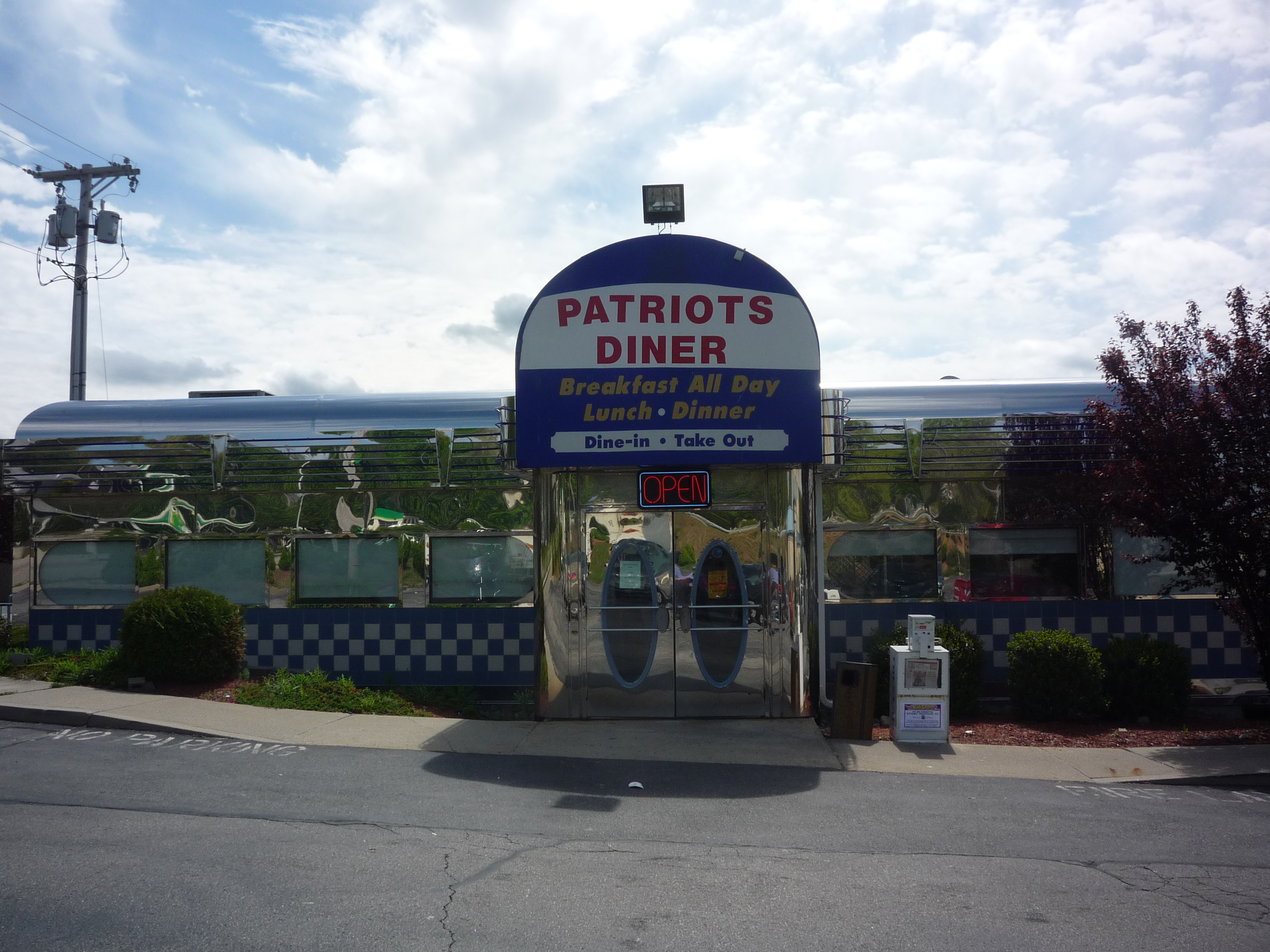 Bring Your Appetite to the Patriots Diner in Woonsocket, R.I.