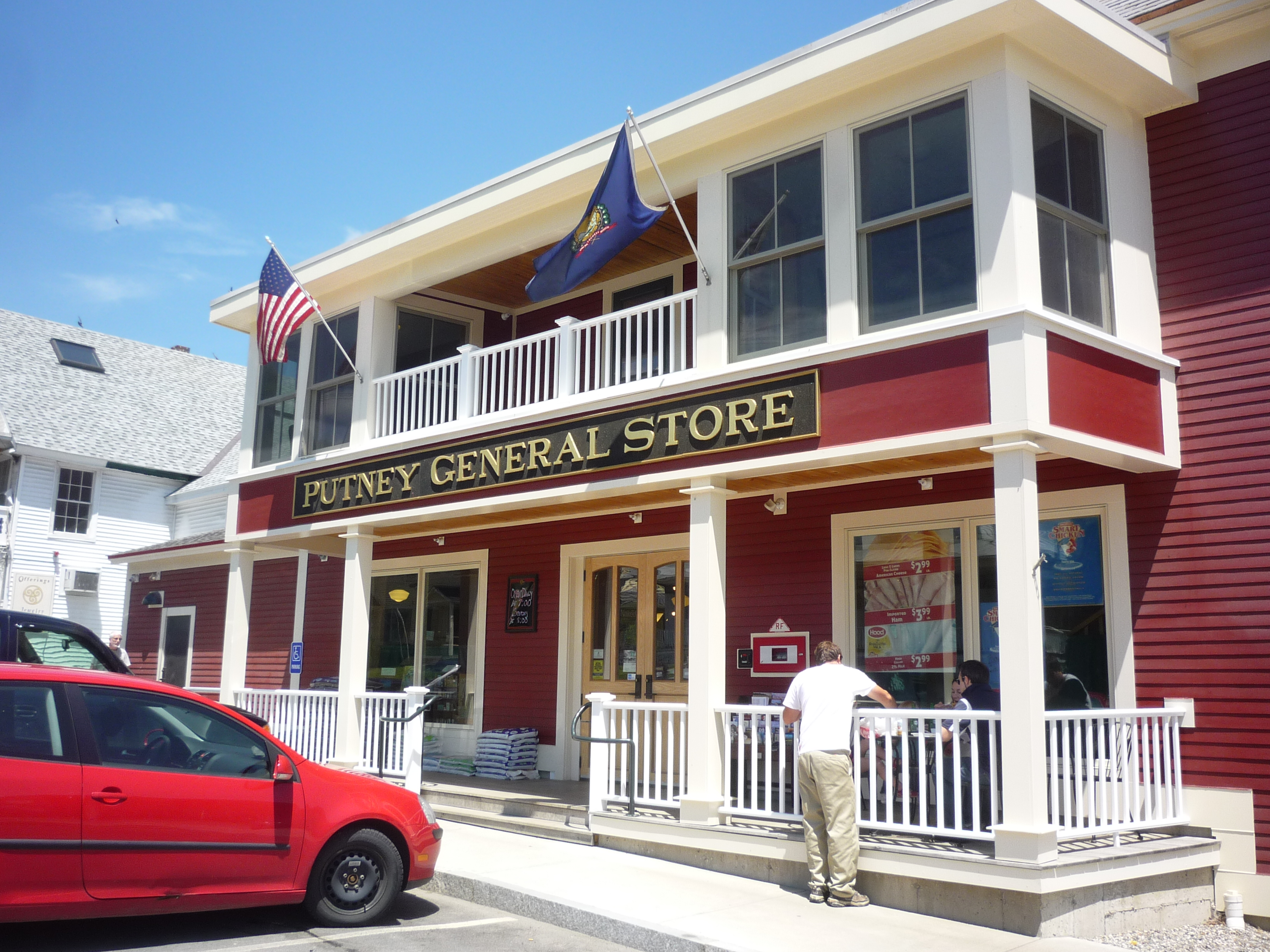 You Know You Are in Vermont When At The Putney General Store