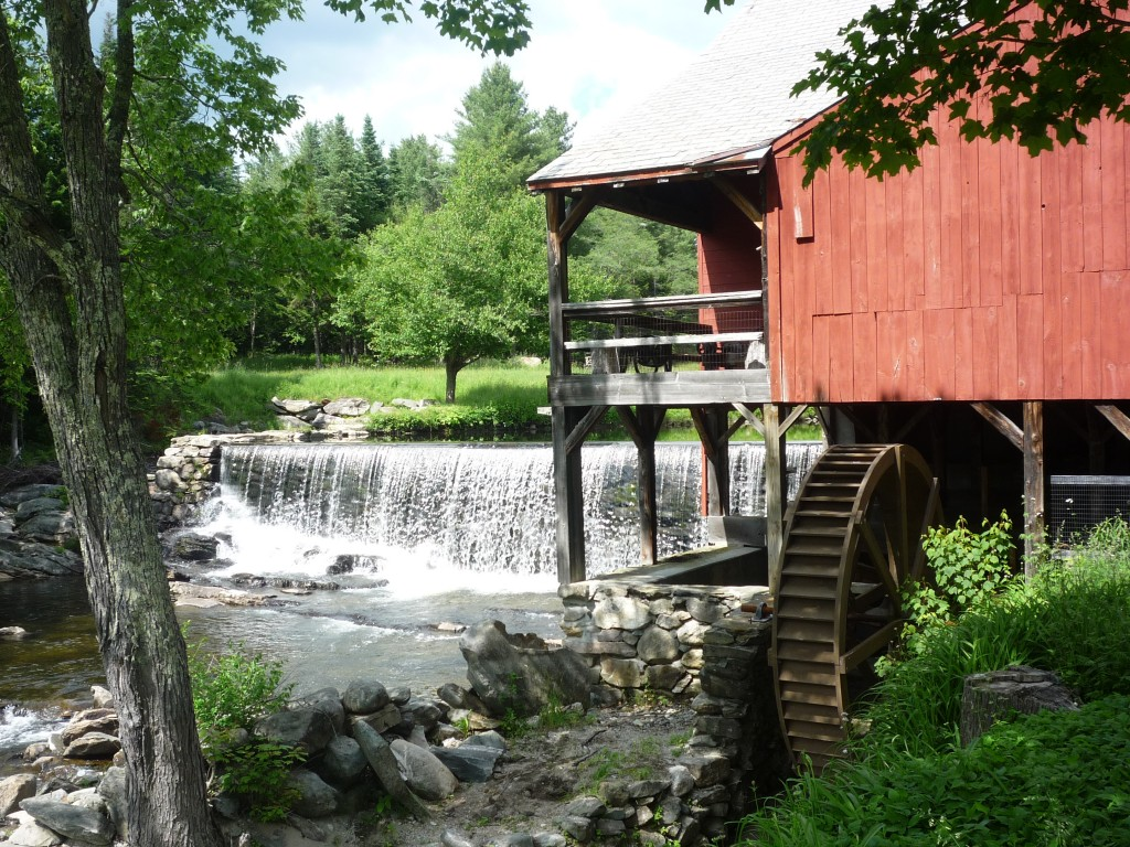 Picture of the Old Mill Museum and Dam, Weston VT