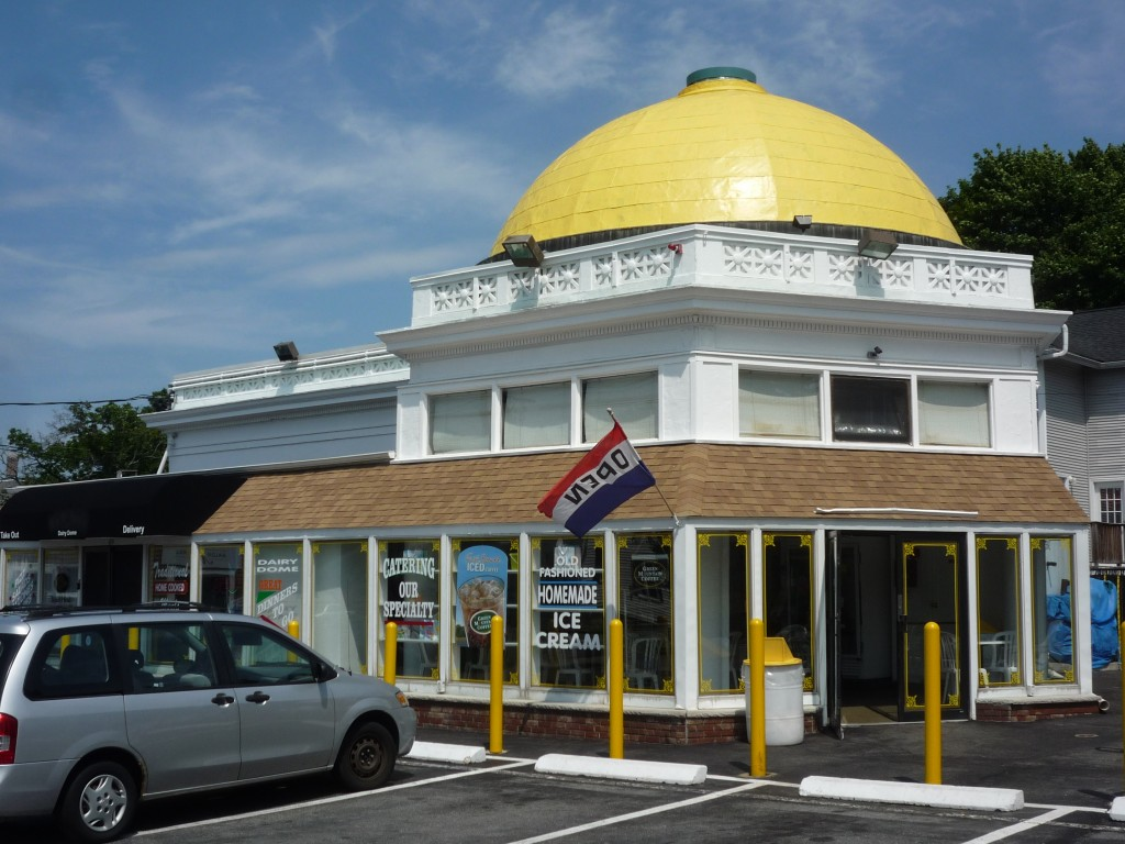 Image of the Dairy Dome, Stoneham, Mass.