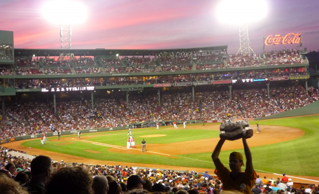 Image of Fenway Park, home of the Boston Red Sox