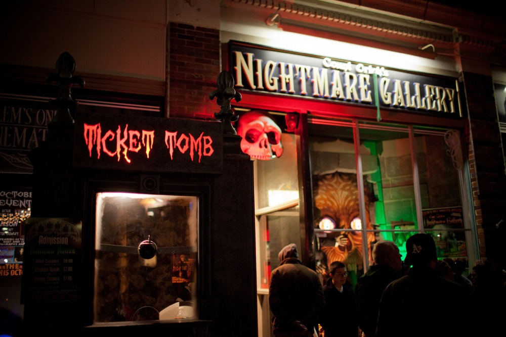 Haunted Happenings during October in Salem, Massachusetts. Photo credit: Massachusetts Department of Travel and Tourism